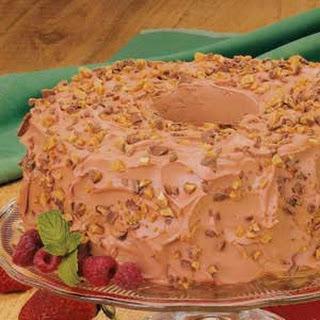 Mocha Angel Food Torte.