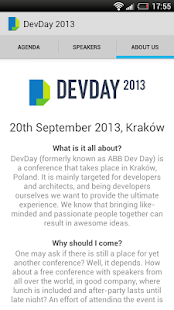 DevDay 2013- screenshot thumbnail