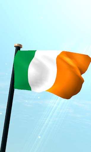 愛爾蘭旗3D免費動態桌布