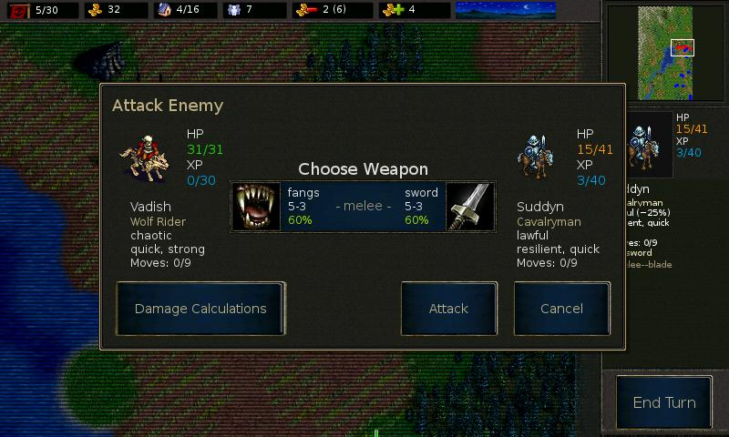Battle for Wesnoth- screenshot