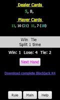 Screenshot of Blackjack K5