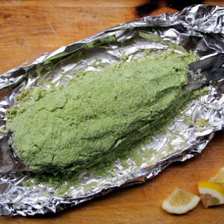 Salt Roasted Fish.