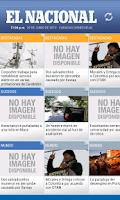 Screenshot of El Nacional