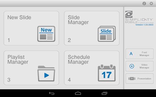 VGS Simplicity™ Mobile Editor