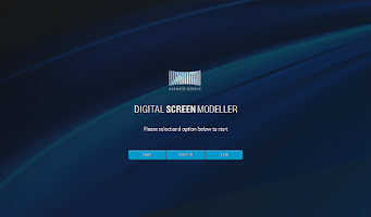 Screenshot of Digital Screen Modeller