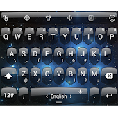 Theme TouchPal Shield Space