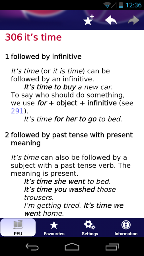 Practical English Usage- screenshot