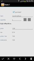 Screenshot of HanDBase Database Manager