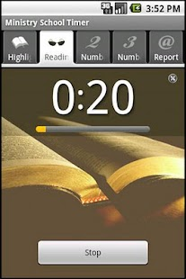 Ministry School Timer- screenshot thumbnail