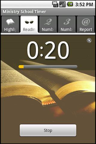 Ministry School Timer - screenshot