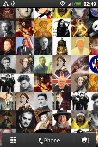Friend Mosaic Wallpaper- screenshot