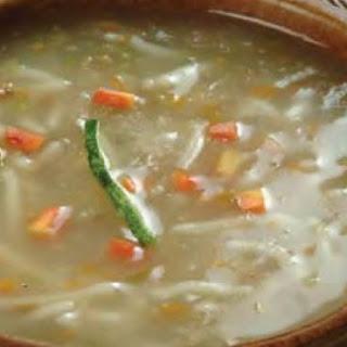 Talomein Soup