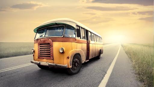 公交车壁纸