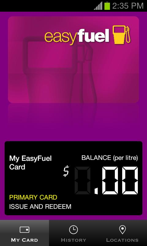 EasyFuel- screenshot