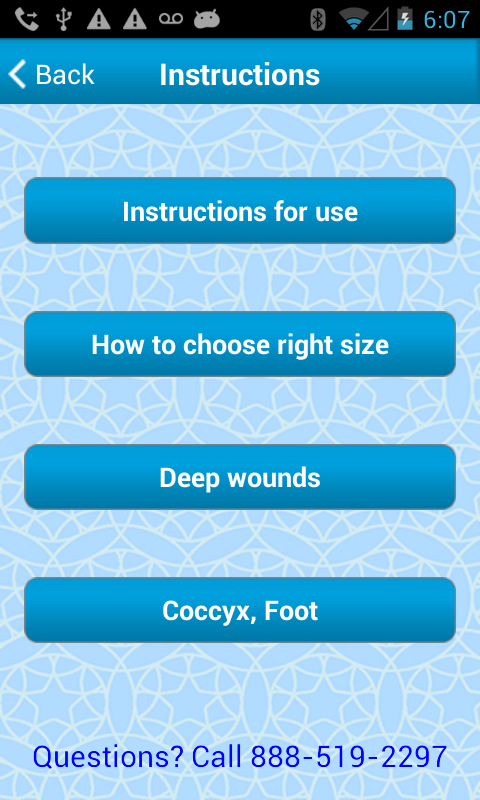 "ENLUXTRA ""ANY Wound"" dressing- screenshot"