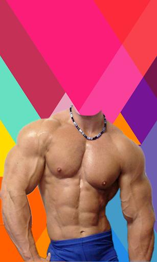 Body Builder Photo Suit