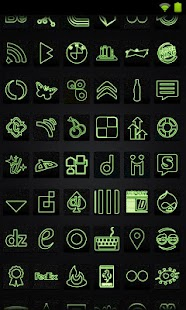 Icon Pack - Neon Green - screenshot thumbnail