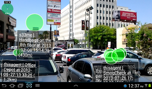 Widespread Augmented Reality 2- screenshot thumbnail