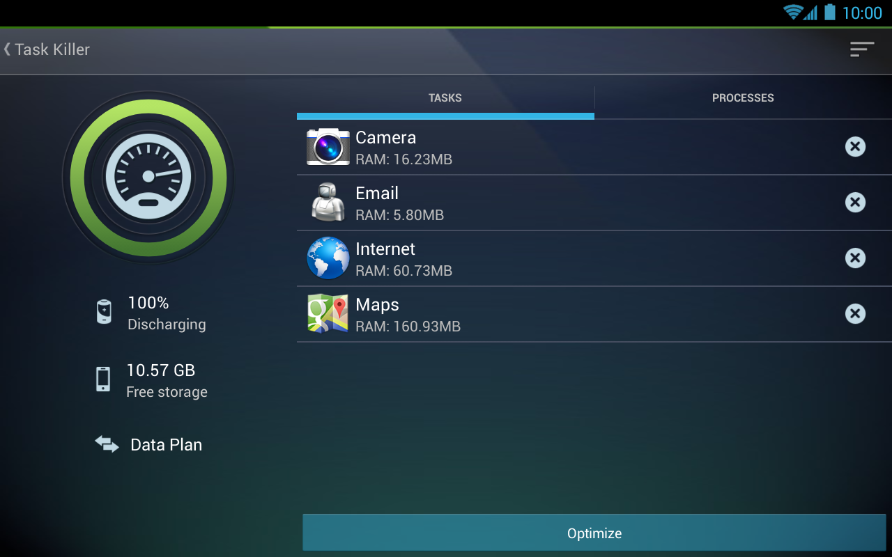 Tablet AntiVirus Security PRO - screenshot