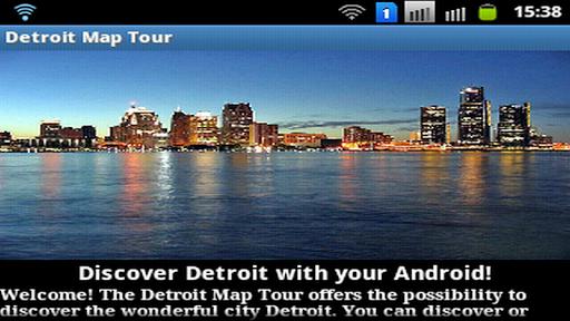 Detroit Map Tour