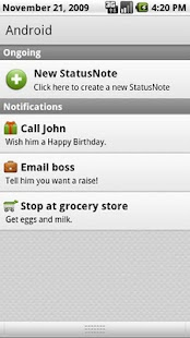 StatusNotes (Status Notes) - screenshot thumbnail