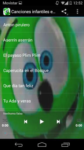 Canciones infantiles Español