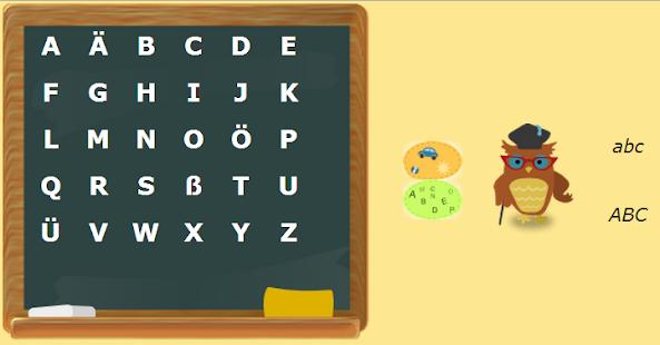 Deutsches Alphabet Screenshot 1