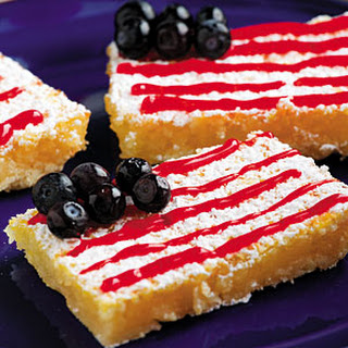 Fourth of July Lemon Bars Recipe