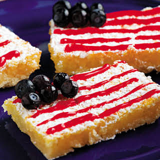 Fourth of July Lemon Bars.