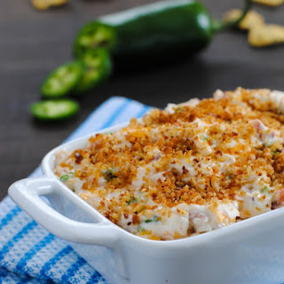 Lightened-Up Jalapeño Popper Dip.