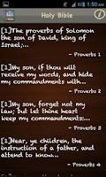 Screenshot of King James Bible (KJV) FREE!
