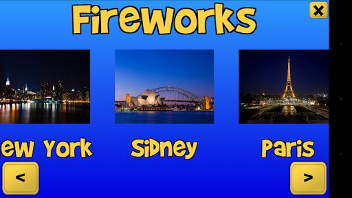 City Fireworks for Kids