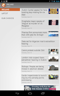 Irish Examiner - screenshot thumbnail