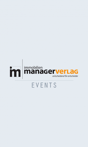 immobilienmanager Events