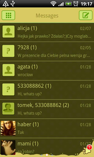 【免費個人化App】GO SMS Rainbow Meadow Theme-APP點子