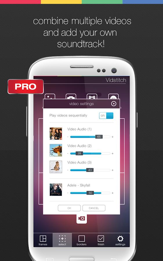 Vidstitch Pro - Video Collage - screenshot
