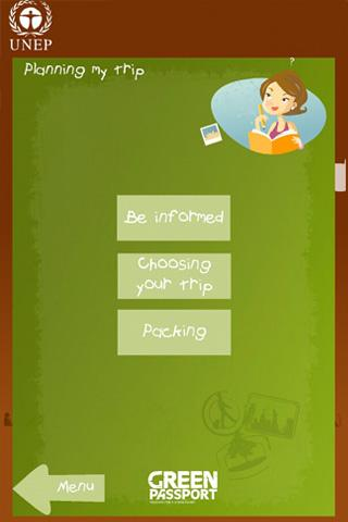 Green Passport - screenshot