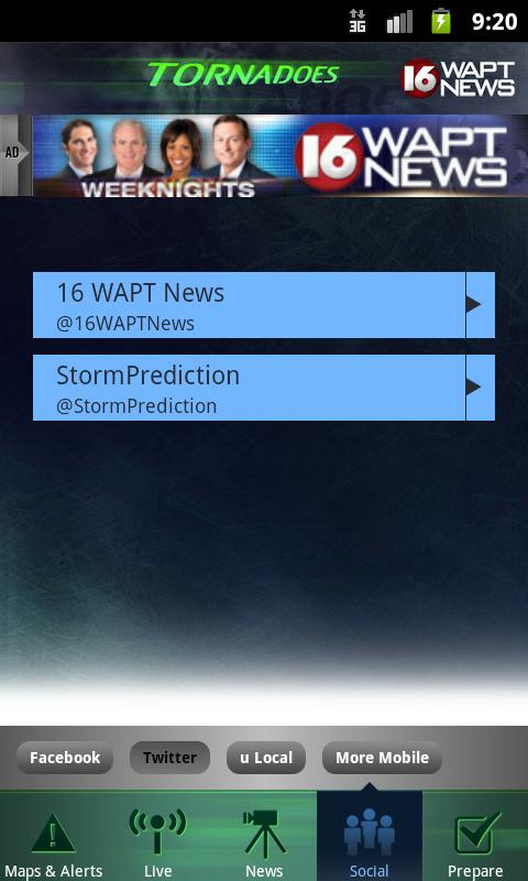 Tornadoes WAPT 16 - screenshot