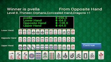 Screenshot of Hong Kong Style Mahjong - Paid