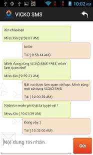 NHẮN TIN MIỄN PHÍ - VICKO SMS