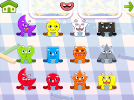 Screenshot of Colors and Shapes Lite