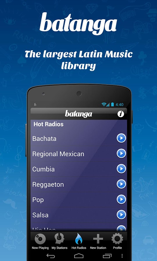 Free Music Batanga Radio - screenshot