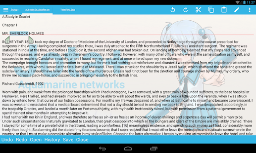 Jota+ (Text Editor) - screenshot thumbnail