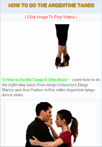 How to Do the Argentine Tango
