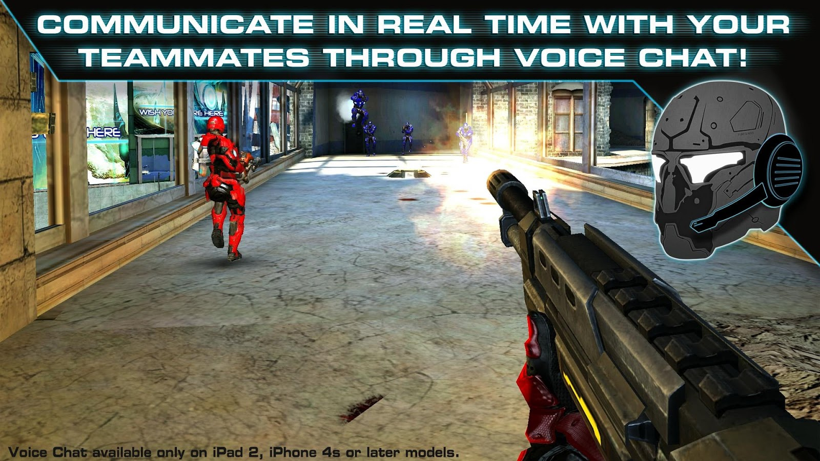 Screenshots of N.O.V.A. 3: Freedom Edition for iPhone