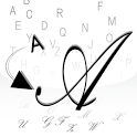 筆記体変換 icon