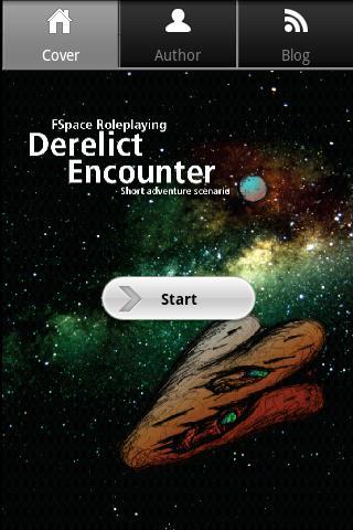 FSpaceRPG Derelict Scenario