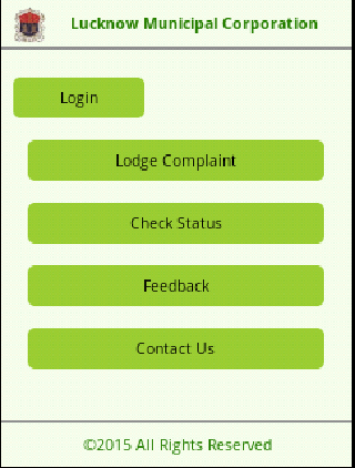 Lucknow Municipal Corporation- screenshot