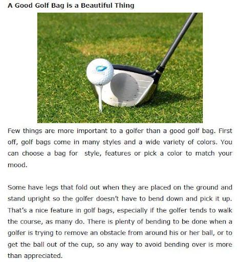 Free Golf Basic Book