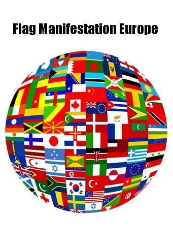 Flag Manifestation Europe